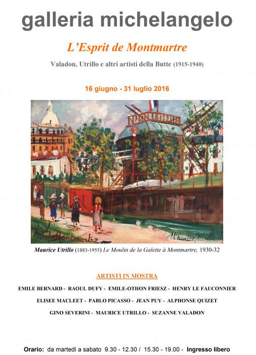 L'esprit de Montmartre - Valadon, Utrillo e altri artisti della Butte