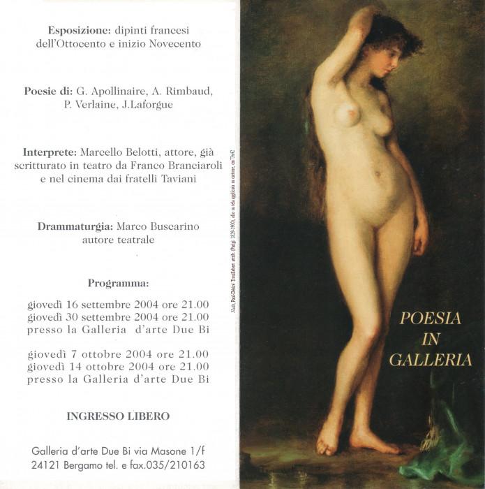 Poesia in galleria - Dipinti francesi dell'Ottocento e inizio Novecento