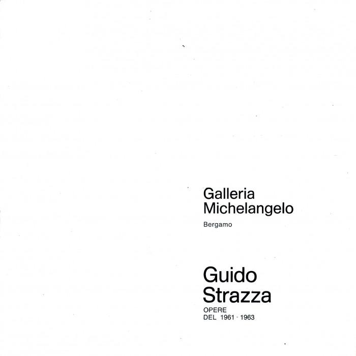 Guido Strazza, opere del 1961-1963