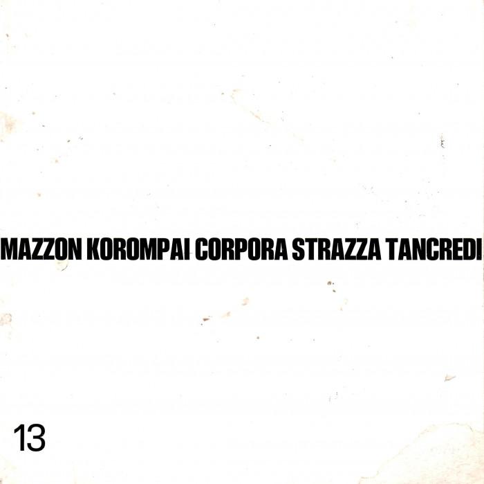 5 Maestri della pittura  Mazzon -  Korompai - Corpora -  Strazza -  Tancredi