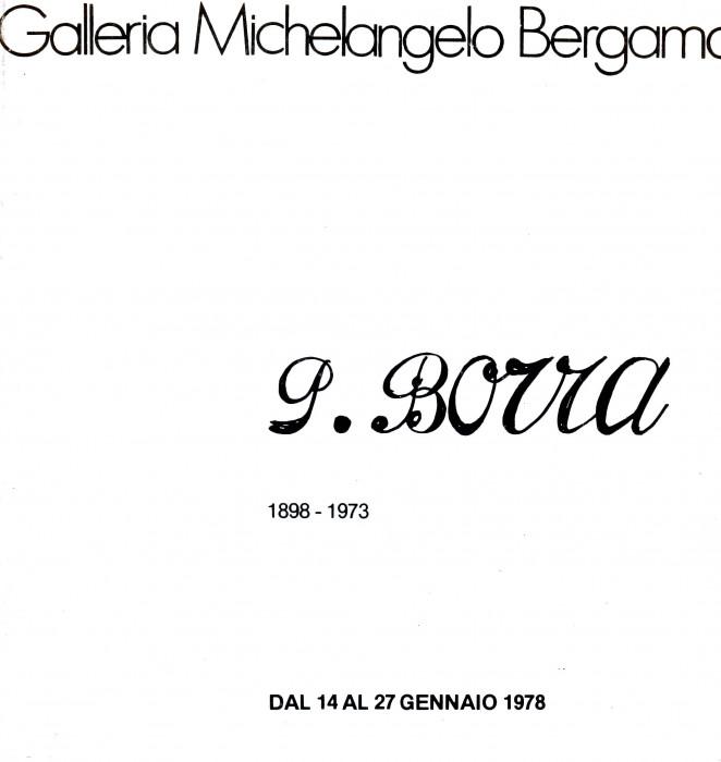 Pompeo Borra, 1898-1973