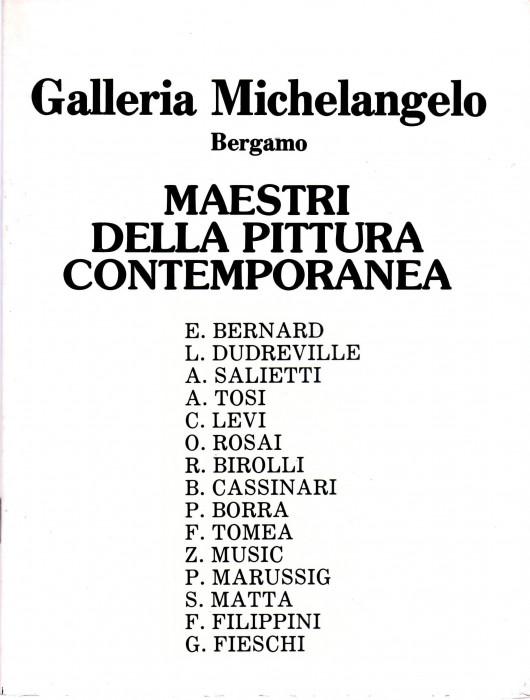 Maestri della pittura contemporanea