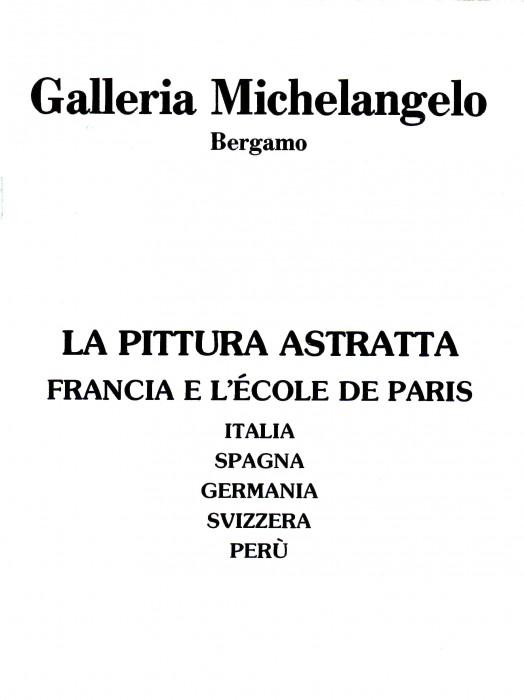La pittura astratta, Francia e l'Ecole de Paris