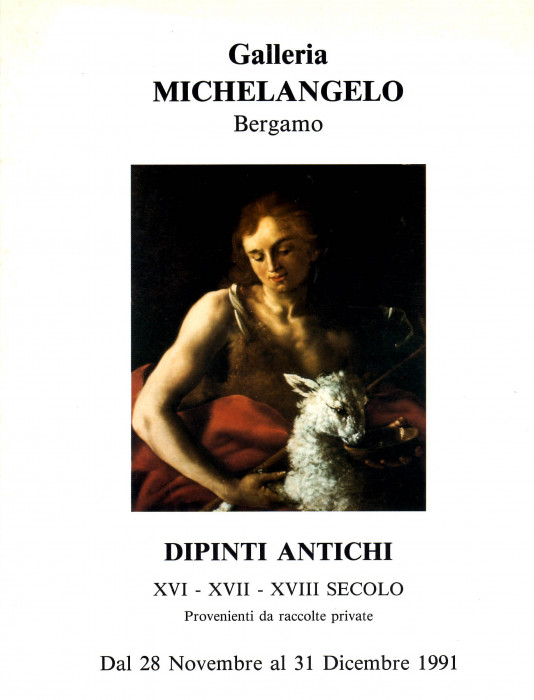 Dipinti Antichi, XVI - XVII - XVIII secolo