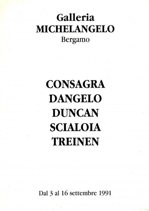 Consagra -  Dangelo - Duncan -  Scialoia - Treinen