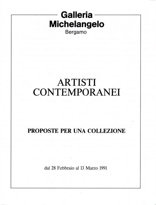 Artisti contemporanei, proposte per una collezione