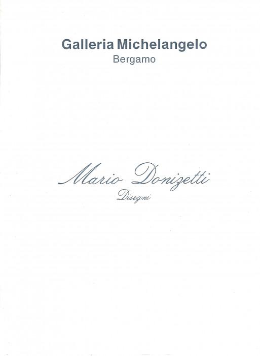 Mario Donizetti, disegni 1974-75