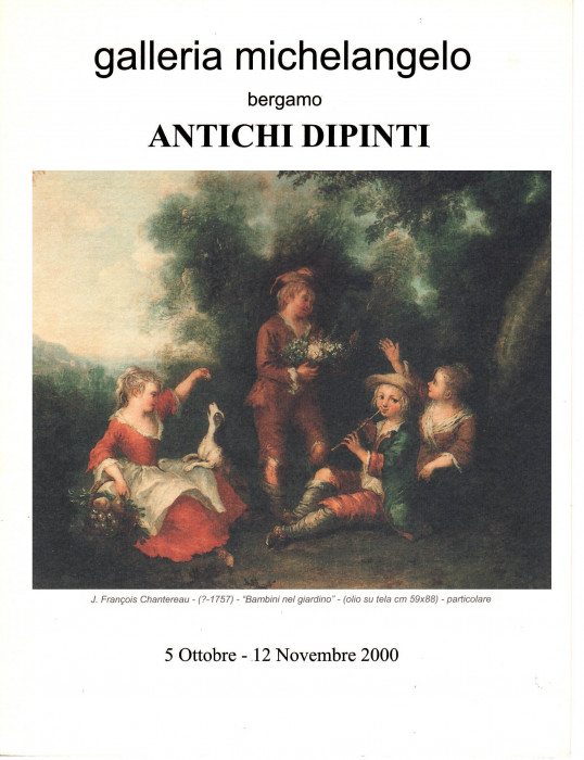 Antichi dipinti dal XVII al XVIII secolo