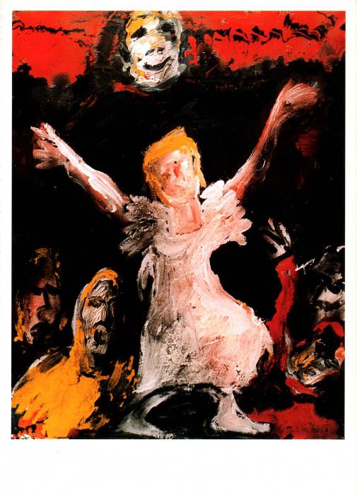 Vittorio Bellini - Sentimento tragico de la vida, omaggio a Goya - dipinti 1996