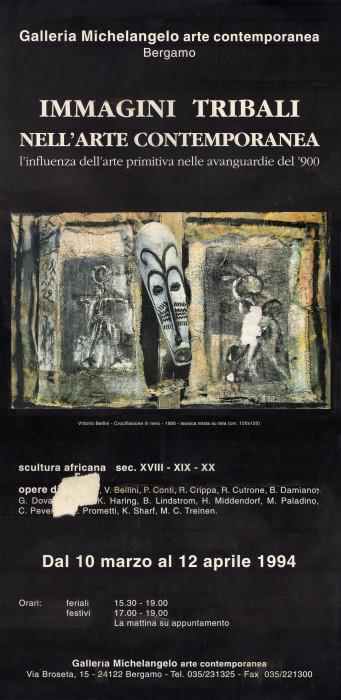Immagini tribali nell'arte contemporanea -  l'influenza dell'arte primitiva nelle avanguardie del '900