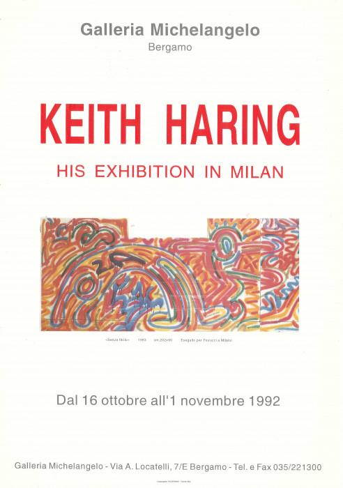 Keith Haring – His exhibition in Milan
