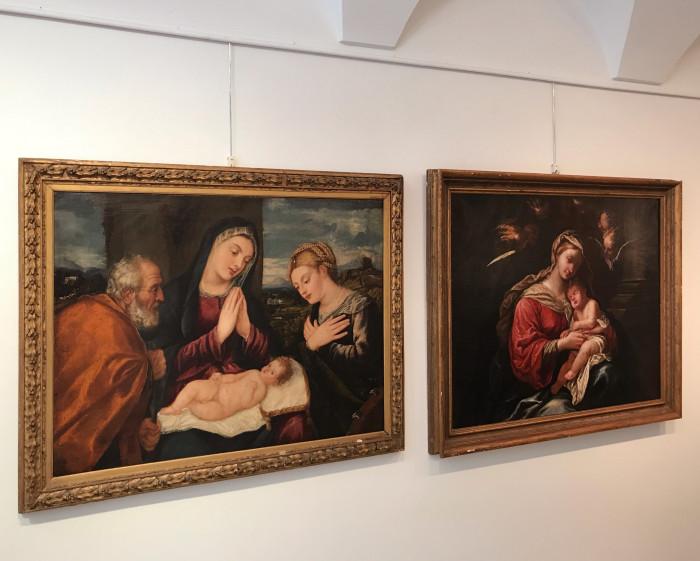 Antichi Maestri di scuola italiana XVI-XVII secolo