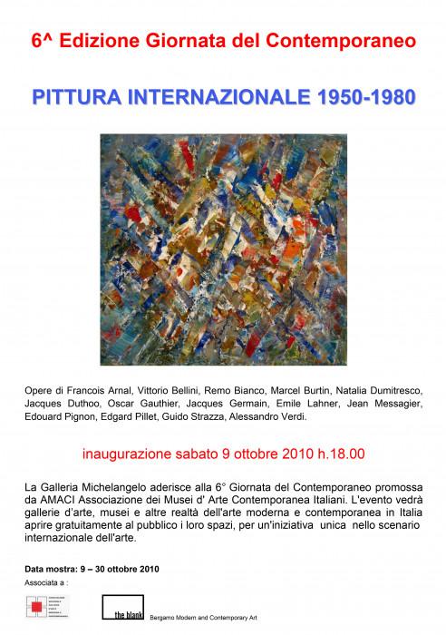 Pittura Internazionale 1950 - 1980