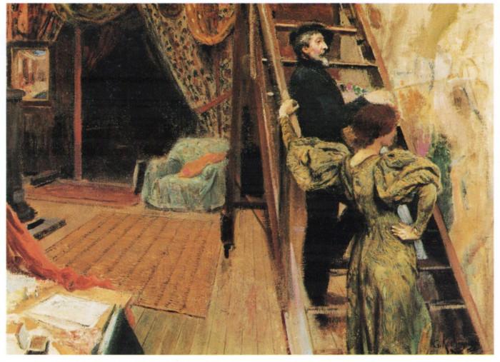 Dipinti francesi, arredi e oggetti d'arte del XIX secolo