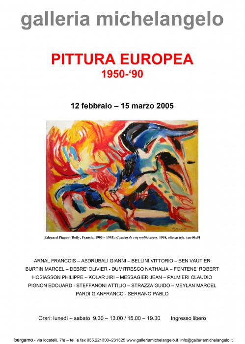 Pittura Europea 1950-1990