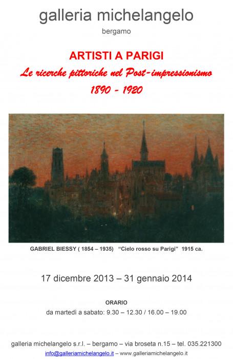 Artisti a Parigi - Le ricerche pittoriche nel Post-impressionismo 1890-1920