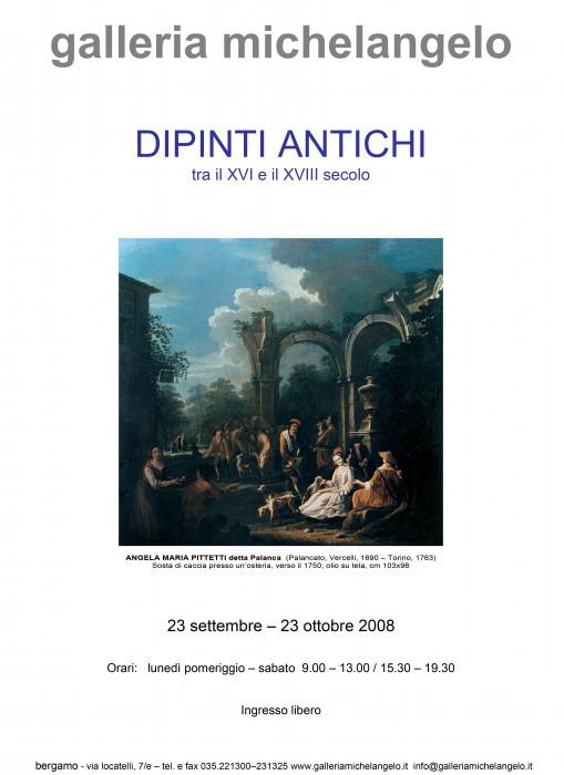 Dipinti antichi tra il  XVl e il XVIII secolo