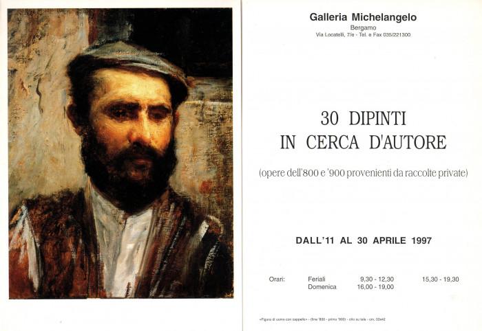 30 dipinti in cerca d'Autore, Opere dell'800 e '900