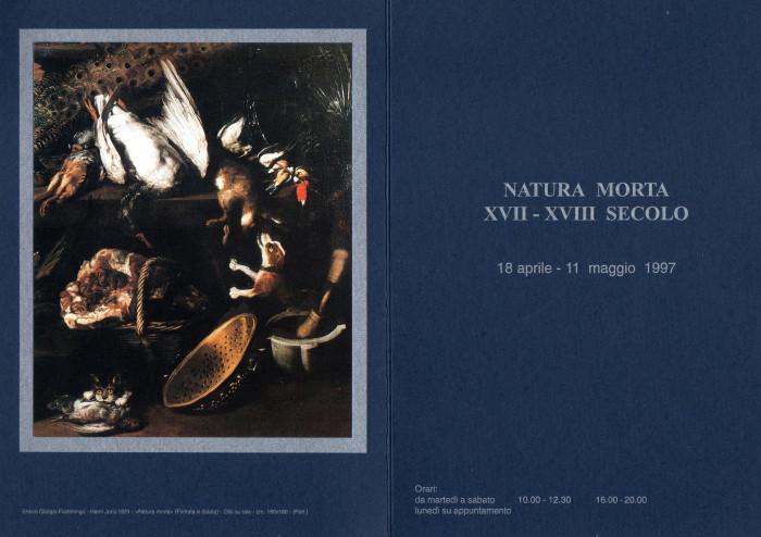 Natura morta, XVII XVIII secolo
